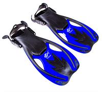 Ласты детские для дайвинга Dolvor Flipper F89R (р.33-35, синие)