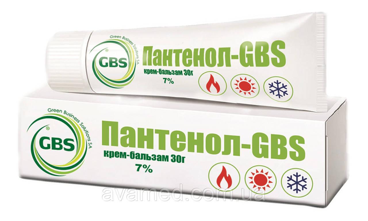 Пантенол GBS крем-бальзам 7%, 30 г.