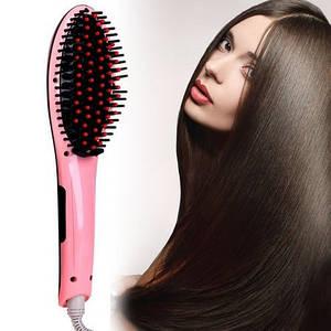 Электрическая расческа-выпрямитель FAST HAIR STRAIGHTENER HQT-906, выпрямитель волос