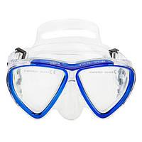 Маска для плавания и снорклинга Dolvor M 242 P (синий)