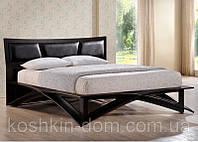 """Кровать двухспальная """"Венеция"""" из натурального дерева и МДФ"""