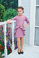 Платье Алиса для девочки р.128-152 фрез