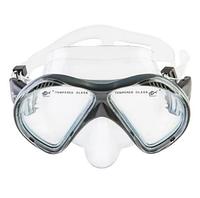 Маска для плавания и снорклинга Dolvor М 293P (серый)