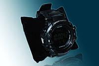 Часы с пульсометром и шагомером Skmei 1180 black