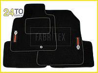 Ворсовые коврики Nissan Micra (K13), 2013-…, Полный комплект, (хорошее качество), Ниссан Микра