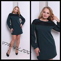 "Модное женское платье большого размера ""Кармелита"" бутылка, 48"