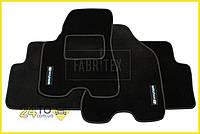 Ворсовые коврики Hyundai Tucson (2004-2010), Полный комплект, (хорошее качество), Хюндай Туксон