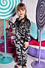 Детский стильный велюровый костюм (2 цвета)