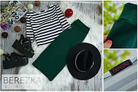 Женский красивый костюм: кофточка и юбка (4 цвета), фото 1