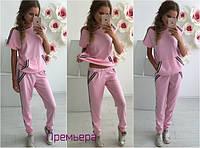 Женский модный трикотажный костюм (2 цвета), фото 1