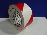 ЗМ™ 767i - Виниловая лента (скотч) для сигнальной маркировки стен, 51 мм, бело-красный, рулон 33 м