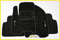Ворсовые коврики Chevrolet Aveo (2004-2011), Полный комплект, (хорошее качество), Шевроле Авео
