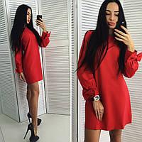 """Женское прямое стильное платье """"Нежность""""(3 цвета), фото 1"""
