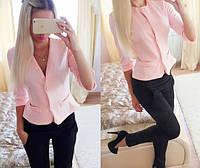 Женский костюмчик: пиджак и брюки (3 цвета), фото 1