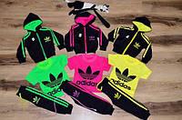 Детский стильный спортивный костюм тройка:штаны, кофта, футболка + шапка(отдельно) (3 цвета) 48, салат