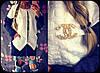 Женский стеганный кардиган с карманами *Шанель* С