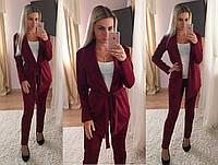 Женский модный костюм: кардиган и брюки (5 цветов), фото 1
