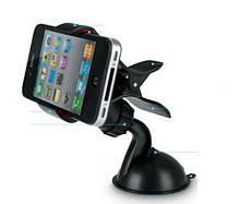 """Тримач автомобільний для смартфона або навігатора до 6.5-7"""" або 90мм шириною ЧОРНИЙ SKU0000629"""
