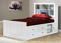 Односпальная кровать с ящиками - Паланга, фото 1
