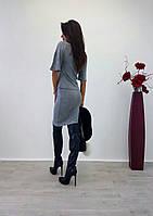 Женский модный костюм из ангоры: кофта и юбка (2 цвета), фото 1
