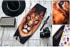 """Женская шикарная юбка-карандаш с 3D Принтом """"Лев"""""""