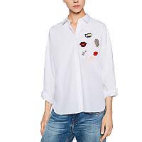 Женская рубашка с нашивками, фото 1