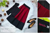 Женский стильный костюм: топ и юбка (3 цвета), фото 1