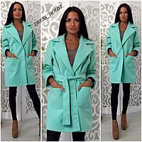 Женское модное прямое пальто (7 цветов), фото 1