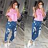 """Женская оригинальная блуза с воланами """"ZARA"""" (2 цвета)"""