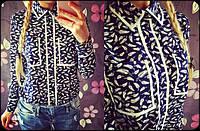 Женская стильная рубашка с карманами (2 расцветки), фото 1