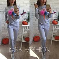 """Женский модный костюм""""Мороженки"""" (4 цвета), фото 1"""