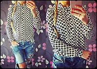 """Женская стильная рубашка """"Креста"""" (2 цвета), фото 1"""