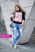 Женская модная замшевая куртка (4 цвета), фото 1
