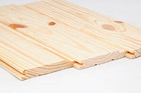 Дерев'яна вагонка (Сосна) (європрофіль) Дерев'яна вагонка (Сосна) 0,085x3м (2,55м.кв.) (європрофіль)