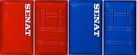Макивара ПВХ SENAT 48х28х12см (синяя, красная)