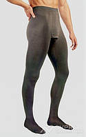 Колготы мужские Solidea Dynamic Ccl 1, закрытый носок, черный, ML