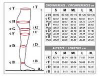 Колготы мужские Solidea Dynamic Ccl 1, закрытый носок, черный, L