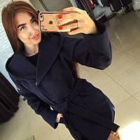 """Женское шикарное кашемировое пальто """"Шарм"""" с капюшоном (4 цвета)"""