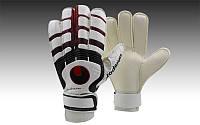 Перчатки вратарские с защитными вставками на пальцах UHLSPORT FB-842-4