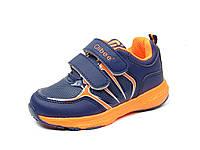 Детская спортивная обувь кроссовки Clibee:F-612 Синий+Оранж, размер 30