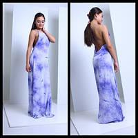 Женское очаровательное платье с открытой спиной и переплетом (3 цвета), фото 1