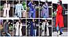 Женское модное пальто прямого кроя с молниями сбоку (8 цветов)