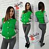 Женская стильная куртка-бомбер весна-осень (7 цветов)