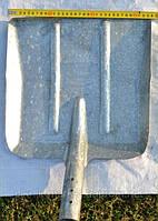 Лопата снегоуборочная оцинкованная без черенка