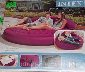 Круглая надувная кровать Лонжа intex 68881, фото 2