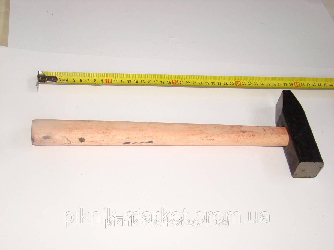 Молоток 1,0 кг з квадратным бойком с ручкой - Пикник Маркет в Запорожской области