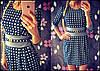 """Женское красивое платье с украшением """"Шанель"""" (расцветки)"""