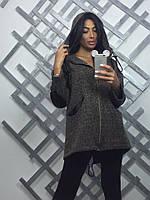 Женская модная куртка-бомбер