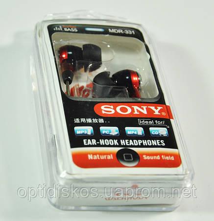 Наушники вакуумные Sony MDR-331, фото 2