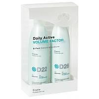 Шампуни Erayba Набор Erayba Daily Active D22 D26 для объема волос 250 + 250 мл